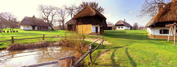 Szabadtéri falumúzeum Szalafőn