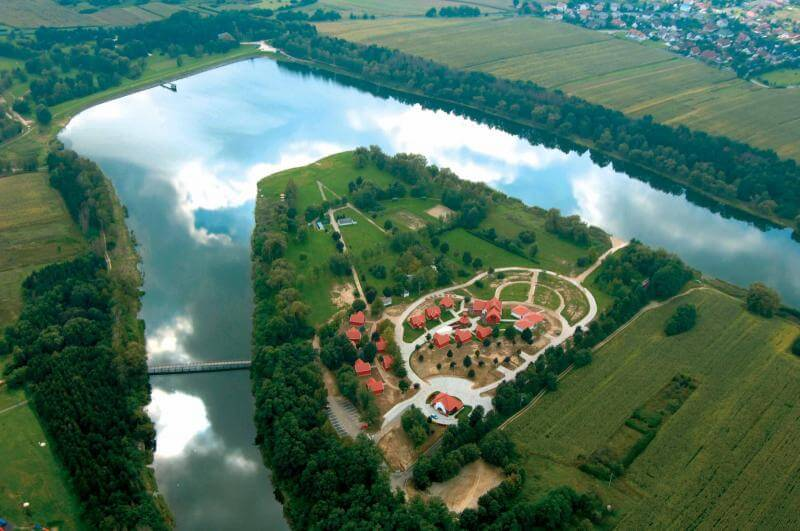 Zalaegerszeg, Gébárti-tó strand